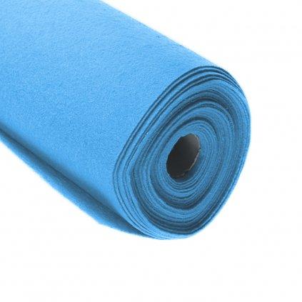 Filc světle modrý metráž š. 42 cm