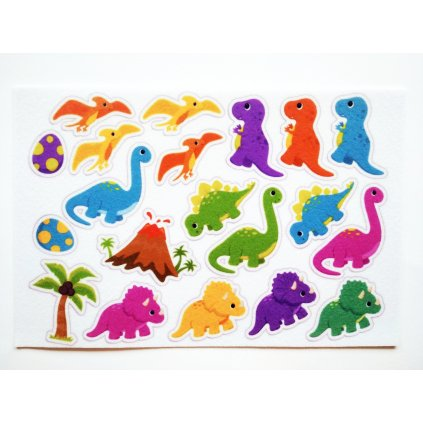 Dinosauři - filcový panel
