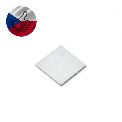 plisek protikus ctverec 12mm s vlajkou