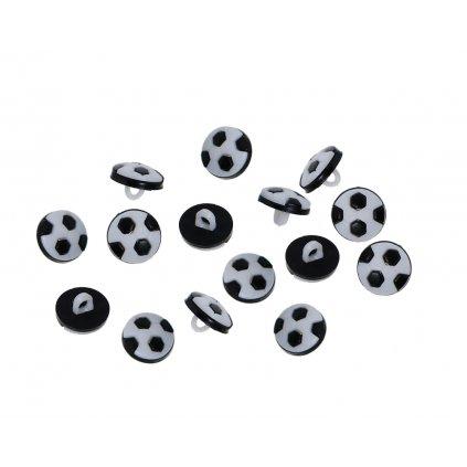 knoflík fotbalový míč