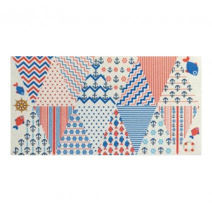 velky panel vlajecky v namornickem stylu