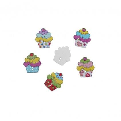 cupcake barevny mix