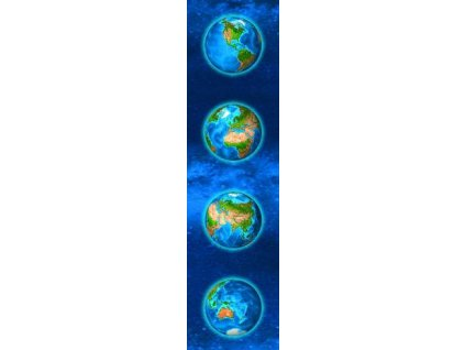 MCP29 Continents Bookmark