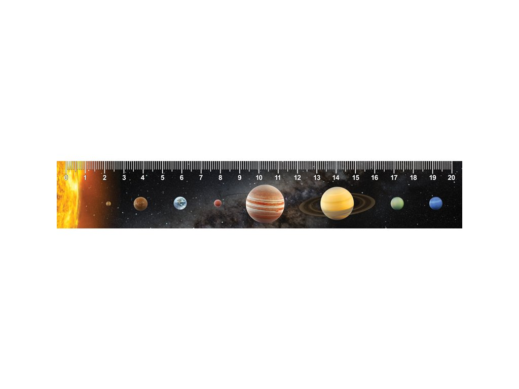 MCP21 SOLAR SYSTEM RULER