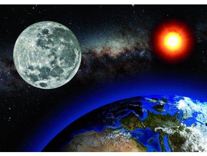 MCP28 EARTH SUN MOON CARD