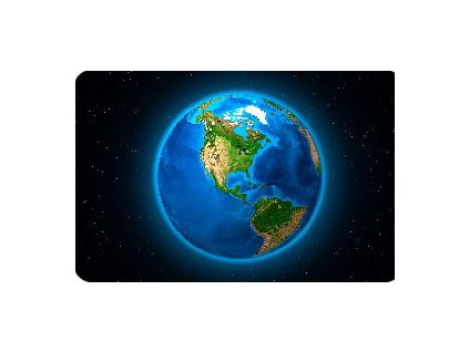 MPY75 EARTH AMERICA MINIMAGNET