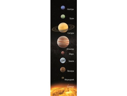 MCP15R SOLAR SYSTEM BOOKMARK RUSSIAN