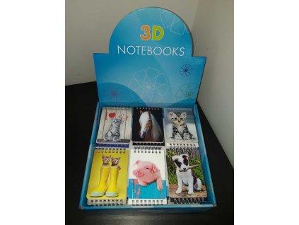 3D notebooks A7