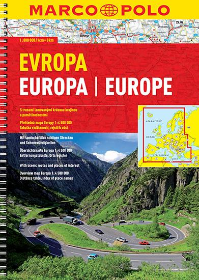 autoatlas MP - evropa