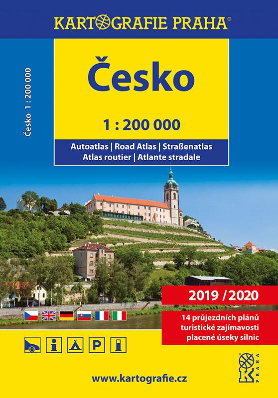 Autoatlas ČR - kartografie