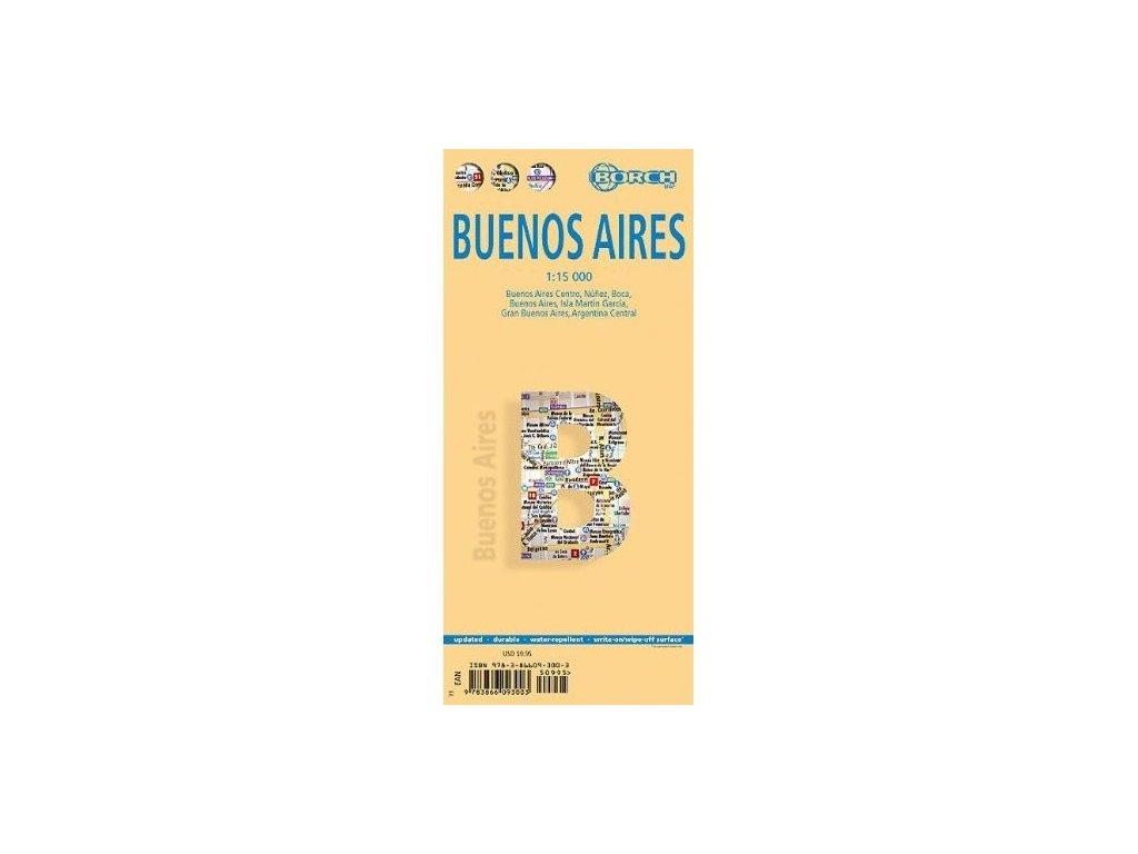 Buenos Aires / lamino,mapa 1:15tis.