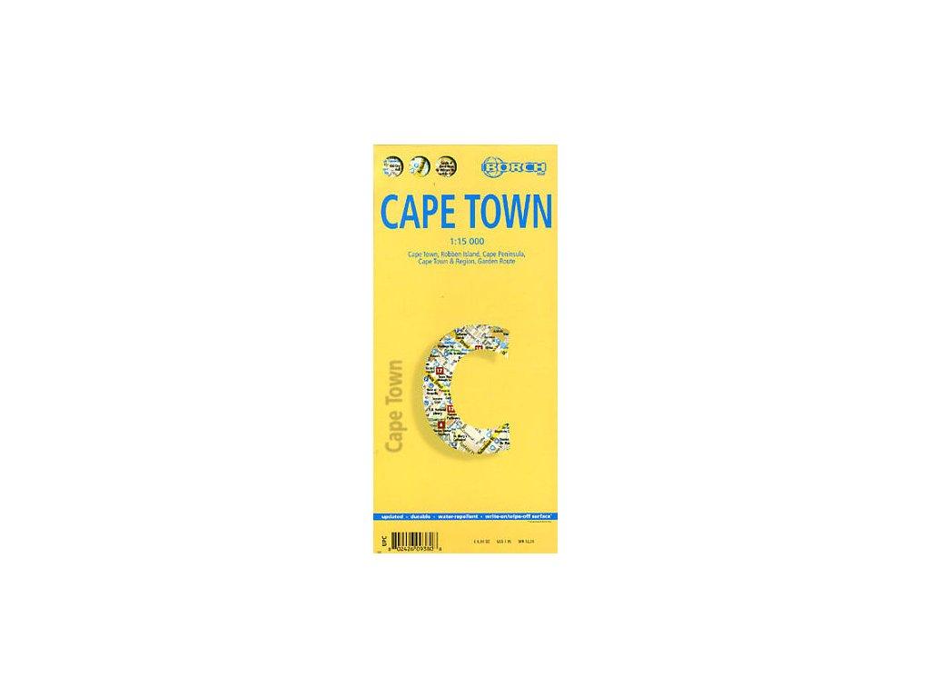 Cape Town/mapa lamino 1:15tis