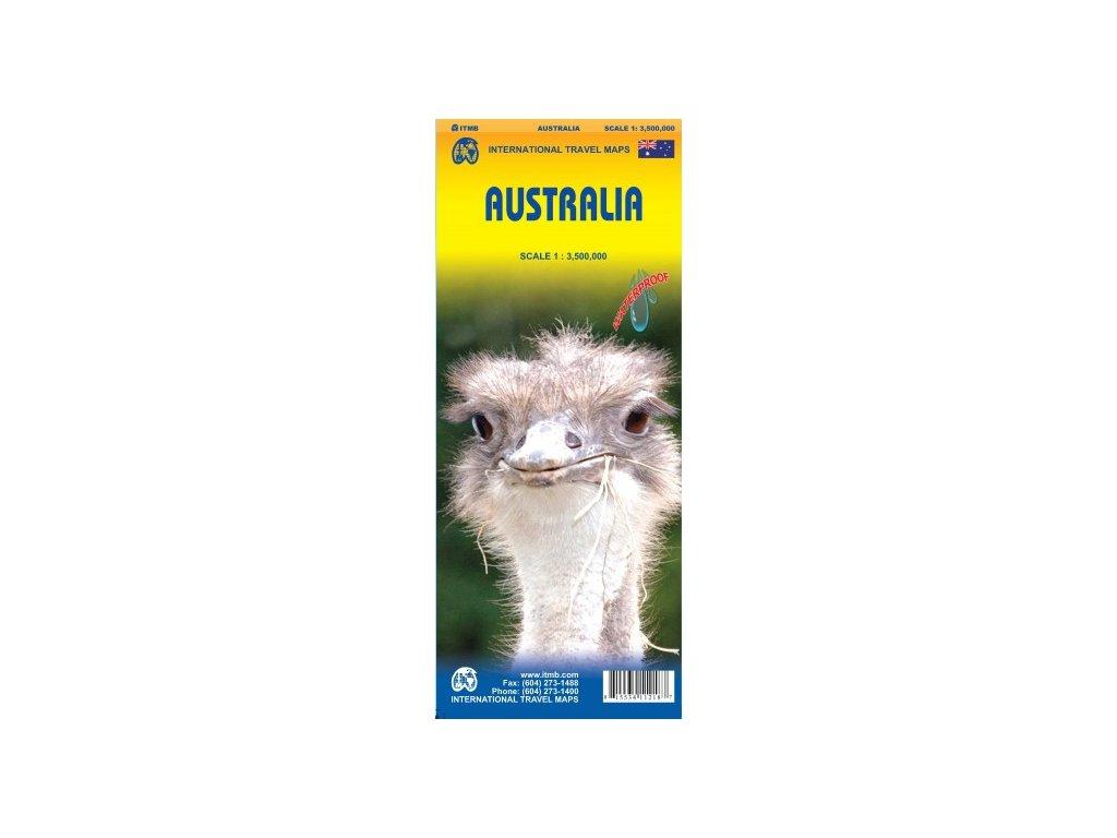 Austrálie / mapa 1:3,5M ITM