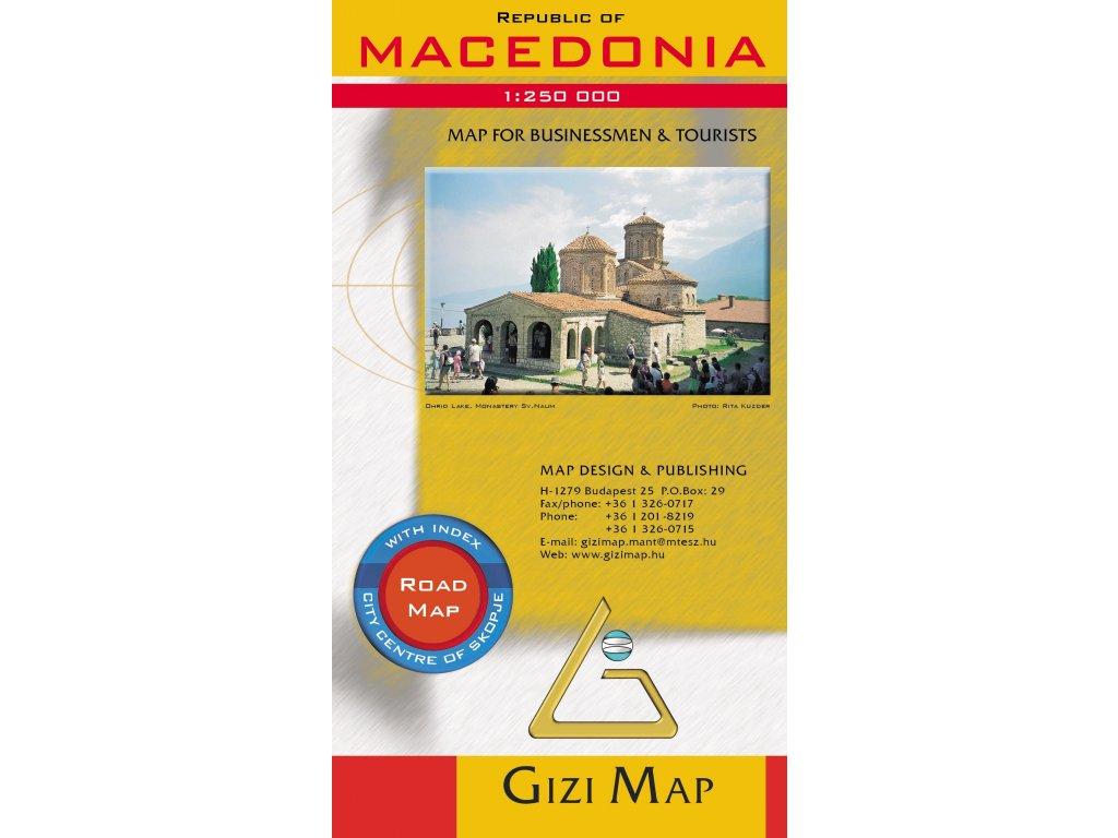 Makedonie /mapa 1:250T GIZI