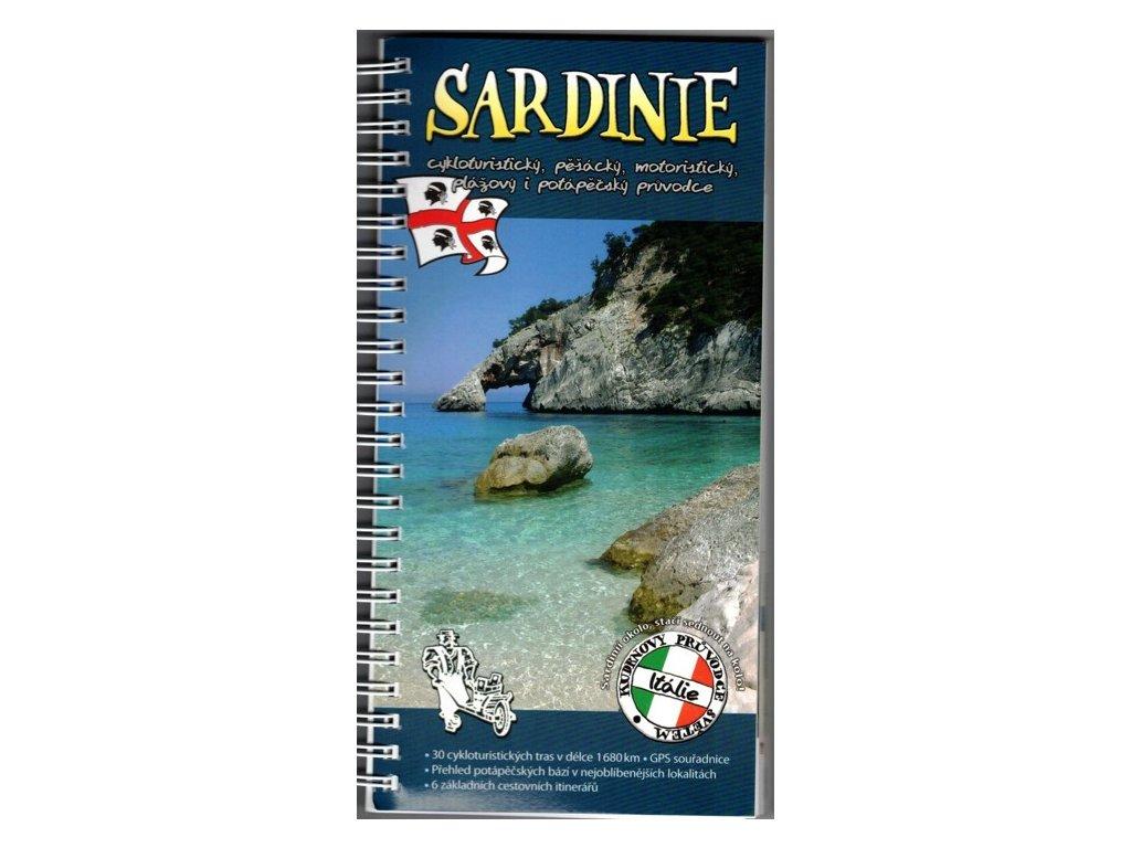 Sardinie /průvodce Kudrna