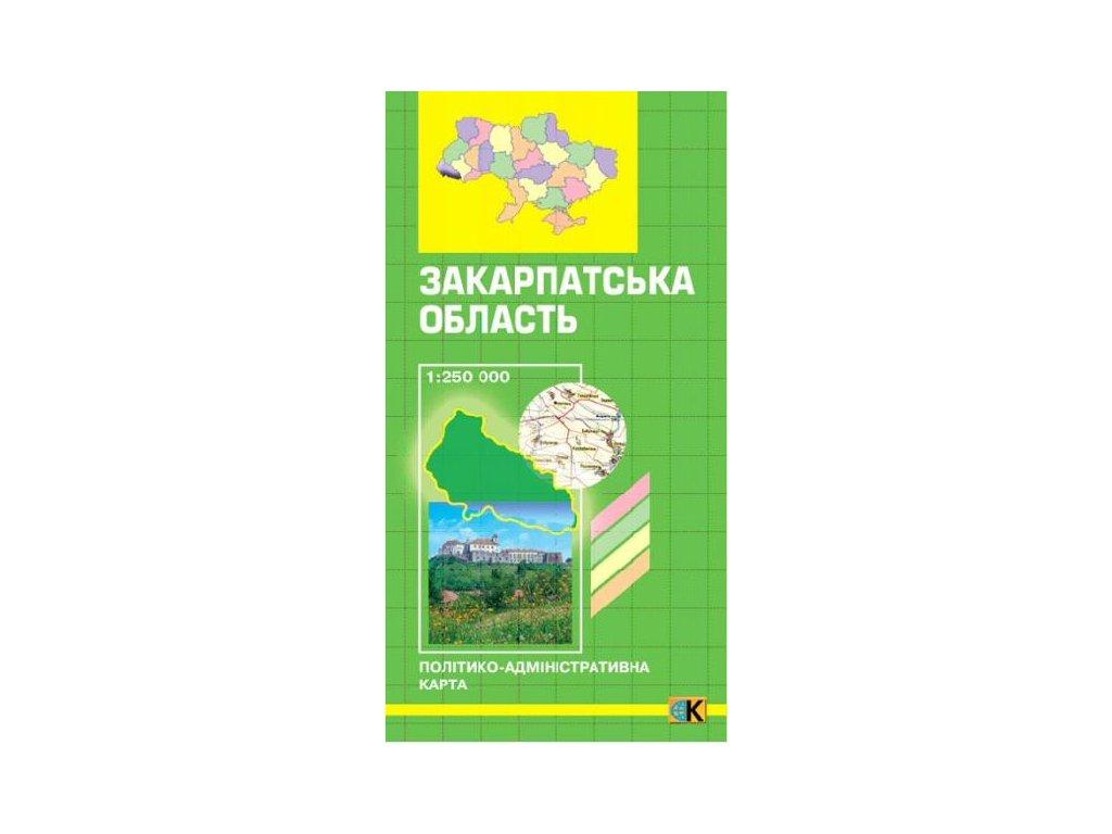 Karpaty/tur.mapa 1:300t