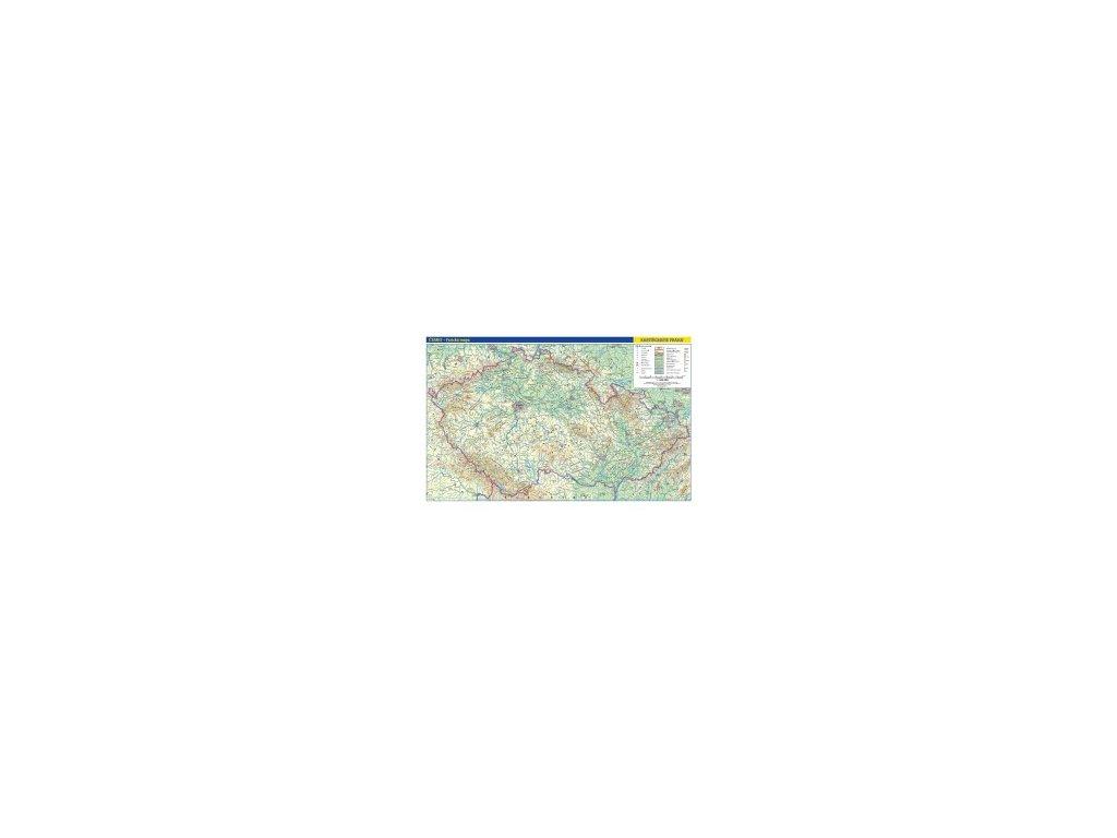 Česko fyzická.-TUBUS,1:500T 5 vyd., nást. mapa
