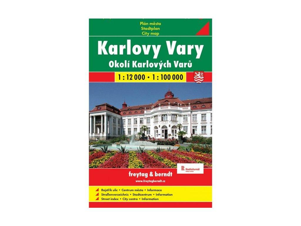 Karlovy Vary / plán měkký,mapa   GC 1:12T SC