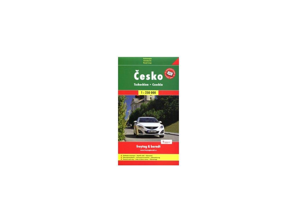 Česko,mapa 1:500t měkký FB