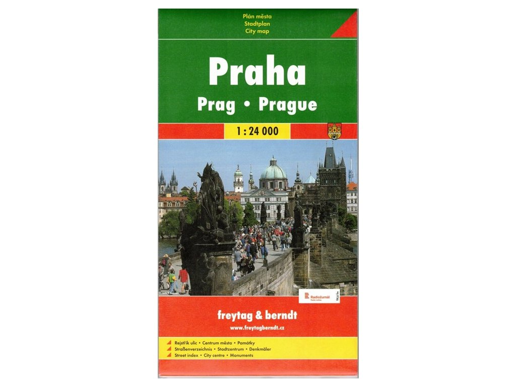 Praha / plán,mapa měkký 1:24T GC