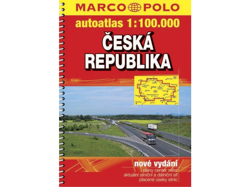 ČR/atlas-spirála 1:100t MP (Kart.) 2016