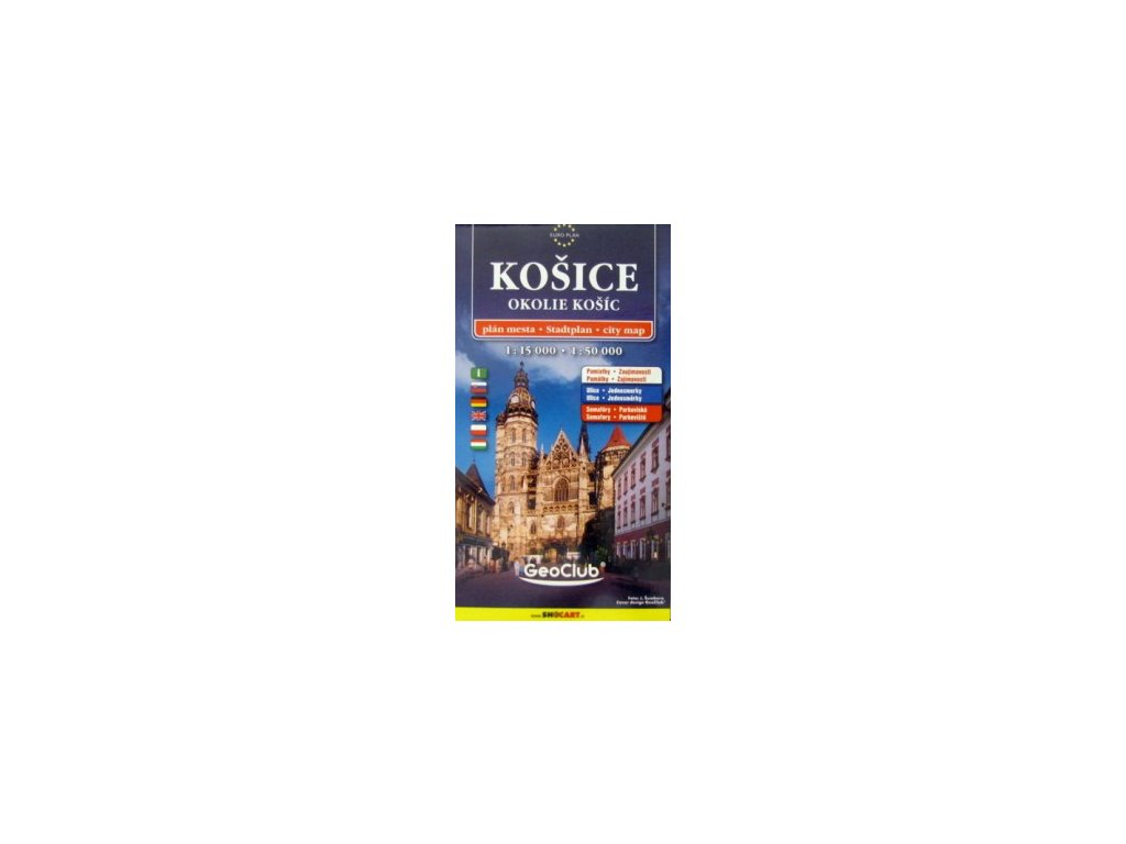 Košice a okolí / plán,mapa 1:15T/50T  S