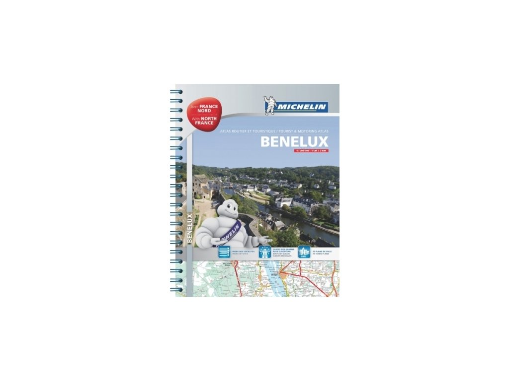 Benelux,s.Fr./atlas 1:150t Michelin