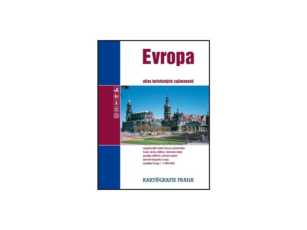 Evropa/atlas tur.zajímavostí