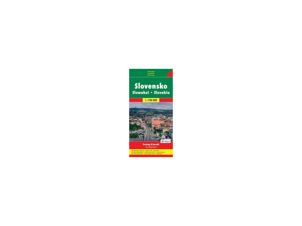 Slovensko/mapa 1:750t SC