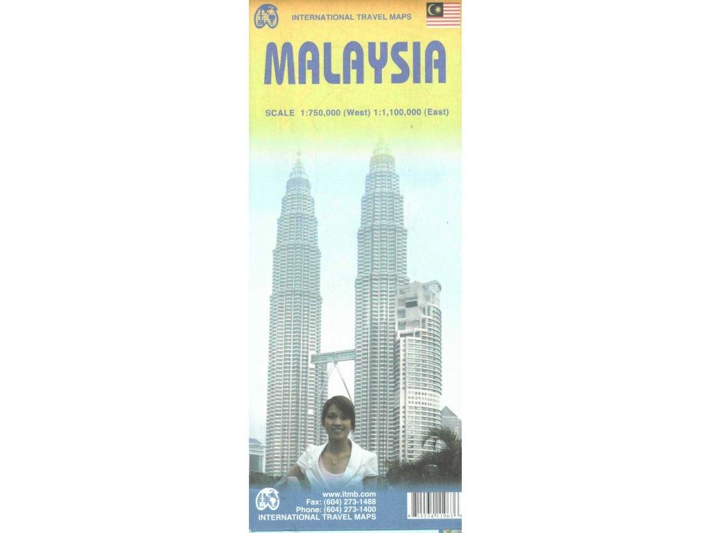 Malajsie/ mapa 1:1,5Mil ITM