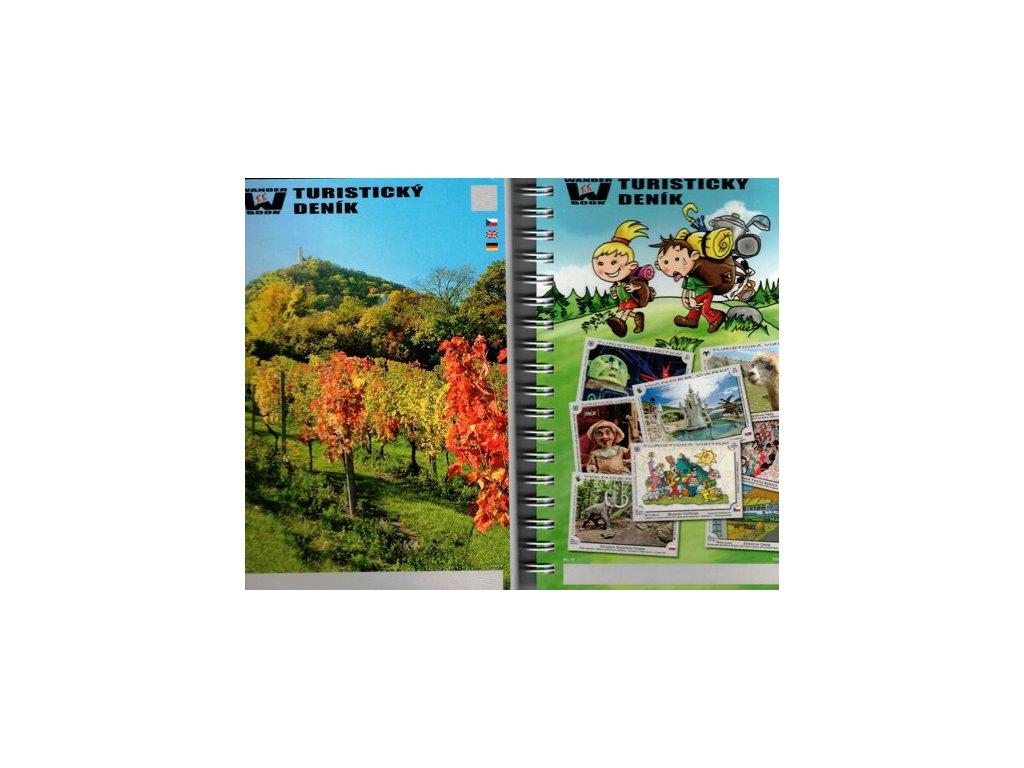 Turistický deník /sešit na razítka A6