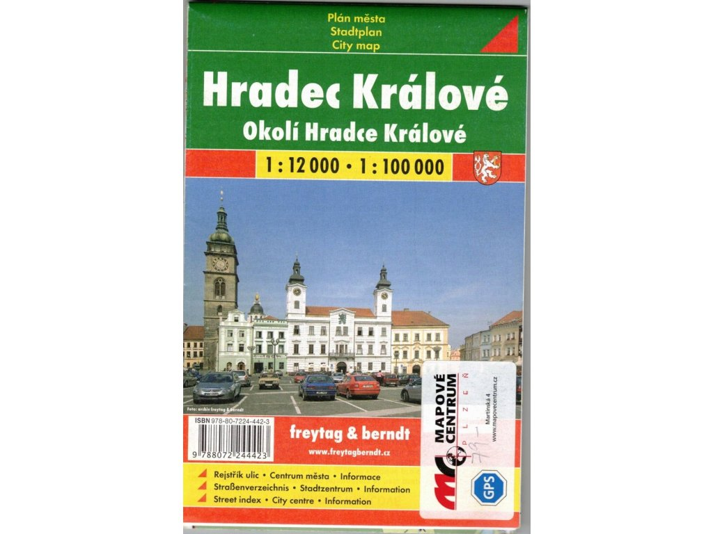 Hradec Králové okolí,,mapa 1:12T FB