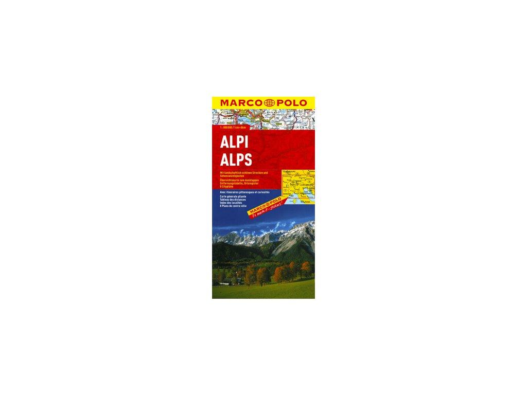 Alpy/mapa 1:800t MD