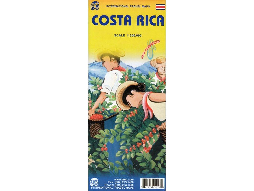 Kostarika/mapa 1:300t ITM