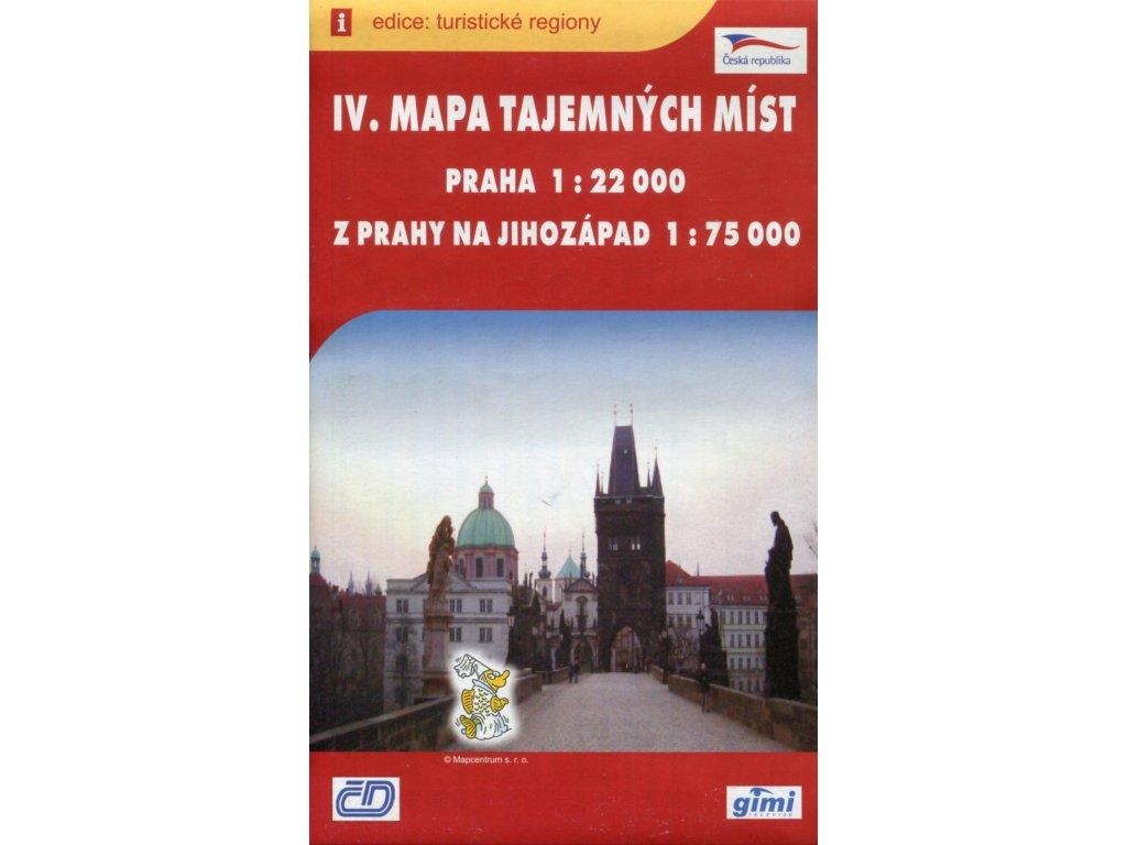 Mapa tajemných míst IV.-Praha, jihozápad