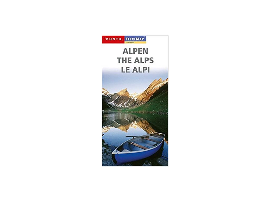 Alpy / lamino mapa 1:1M KUNTH