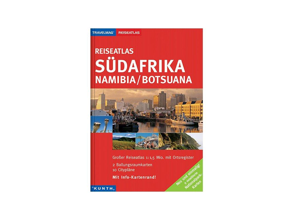 Jižní Afrika/autoatlas 1:1,5Mil KUNTH (MP)