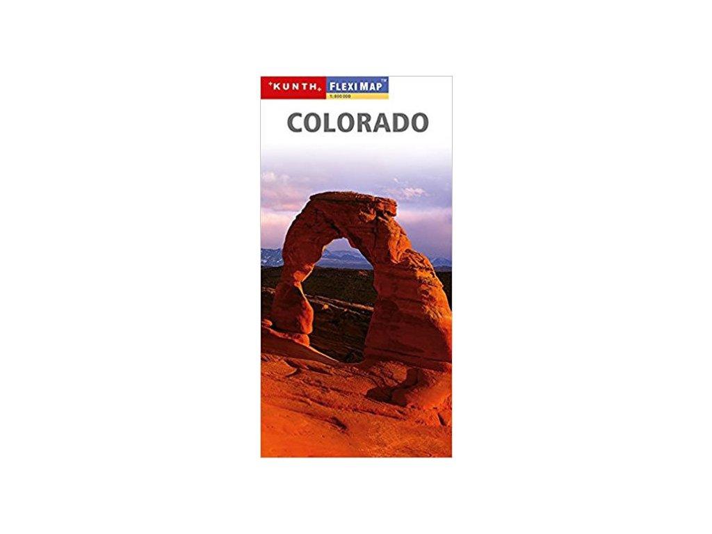 Colorado / mapa 1:800t KUNTH