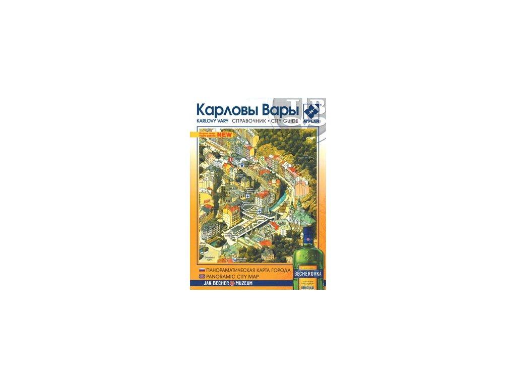 Karlovy Vary/mapa+brožura Rus+AJ /M-Plan