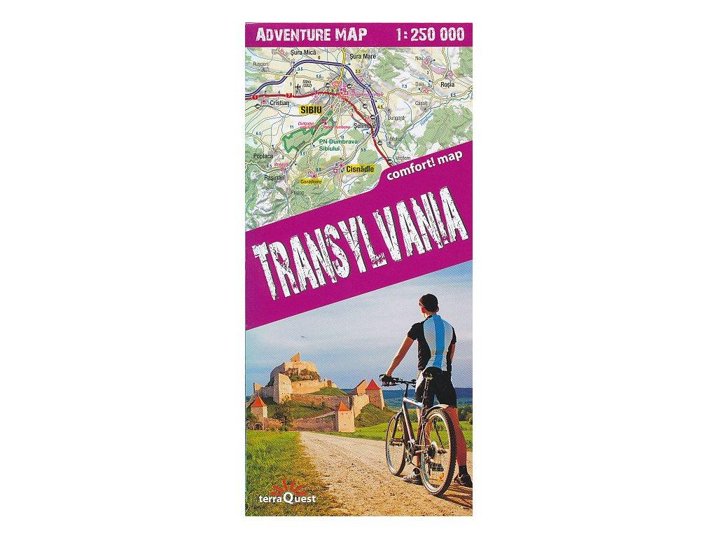 Transylvania,mapa 1:250tis. TQ