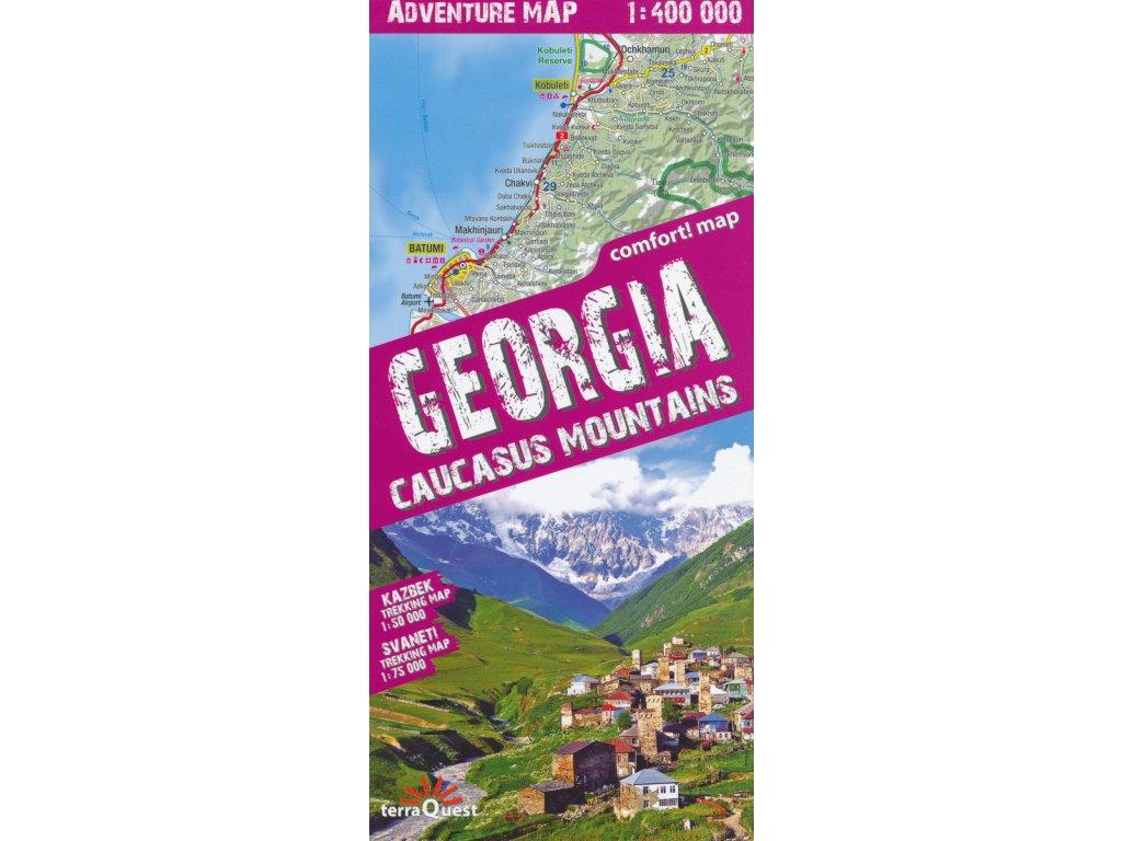 Gruzie/adventure mapa 1:400t TQ