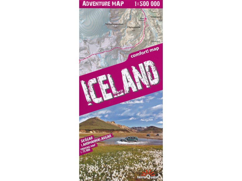 Island/adventuremapa 1:500t TQ