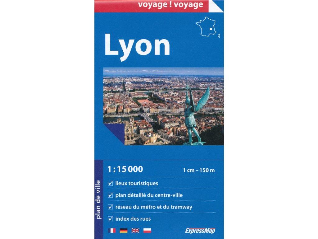 Lyon / plán,mapa 1:15t ExpressMap