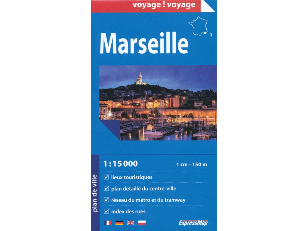 Marseille/ mapa 1:15t ExpressMap