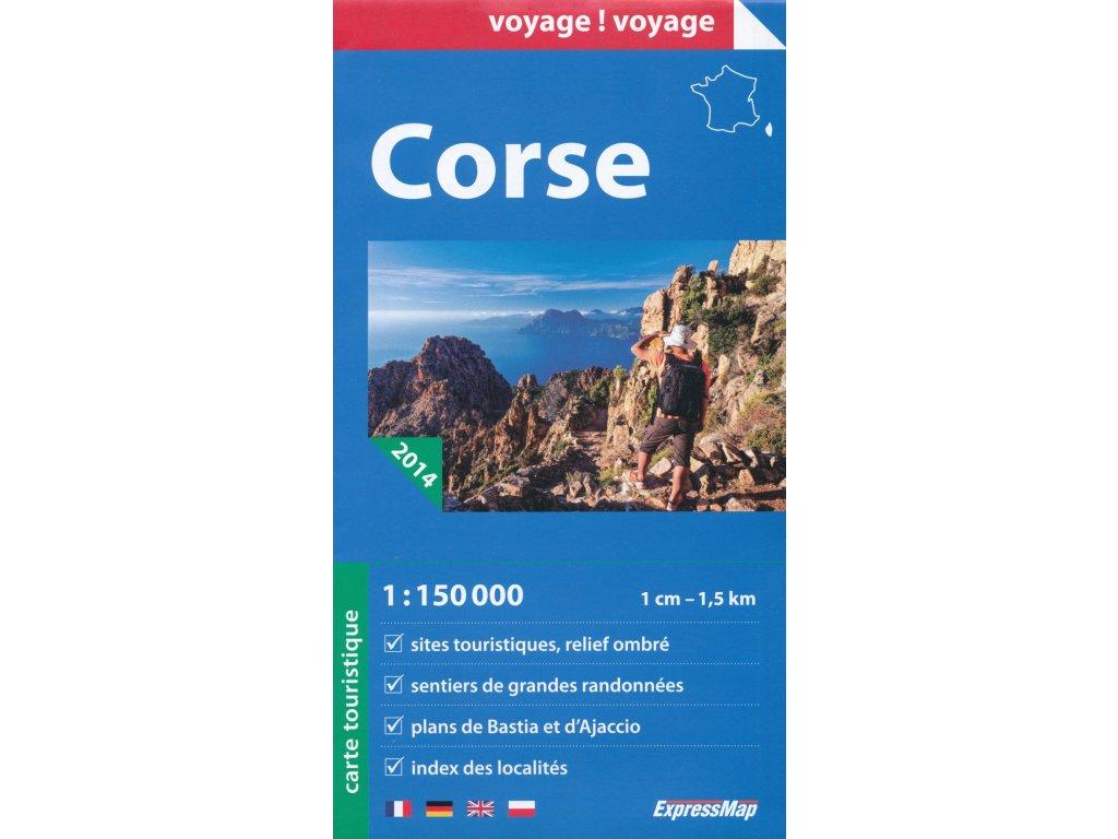 Korsika /mapa 1:150t ExpressMap