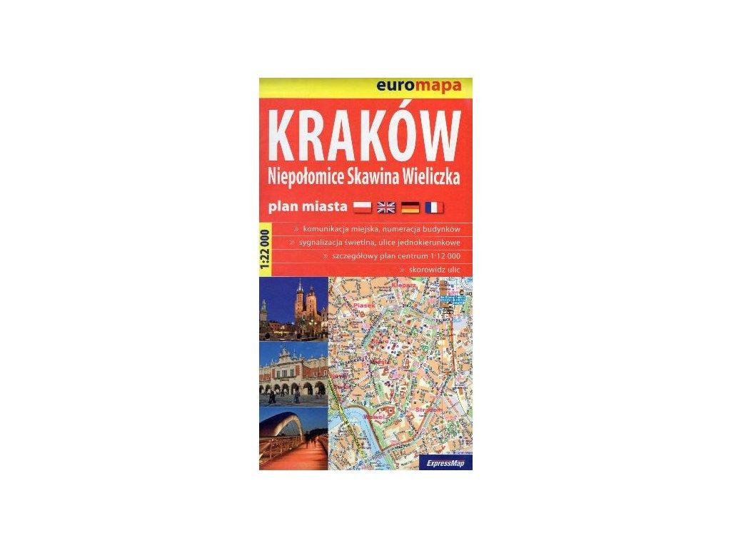 Krakow/plán,mapa 1:22t ExpressMap