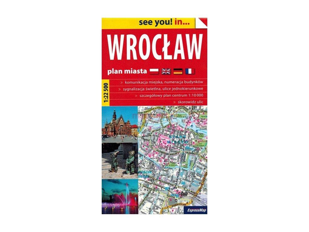 Wroclav/plán,mapa 1:22tis ExpressMap