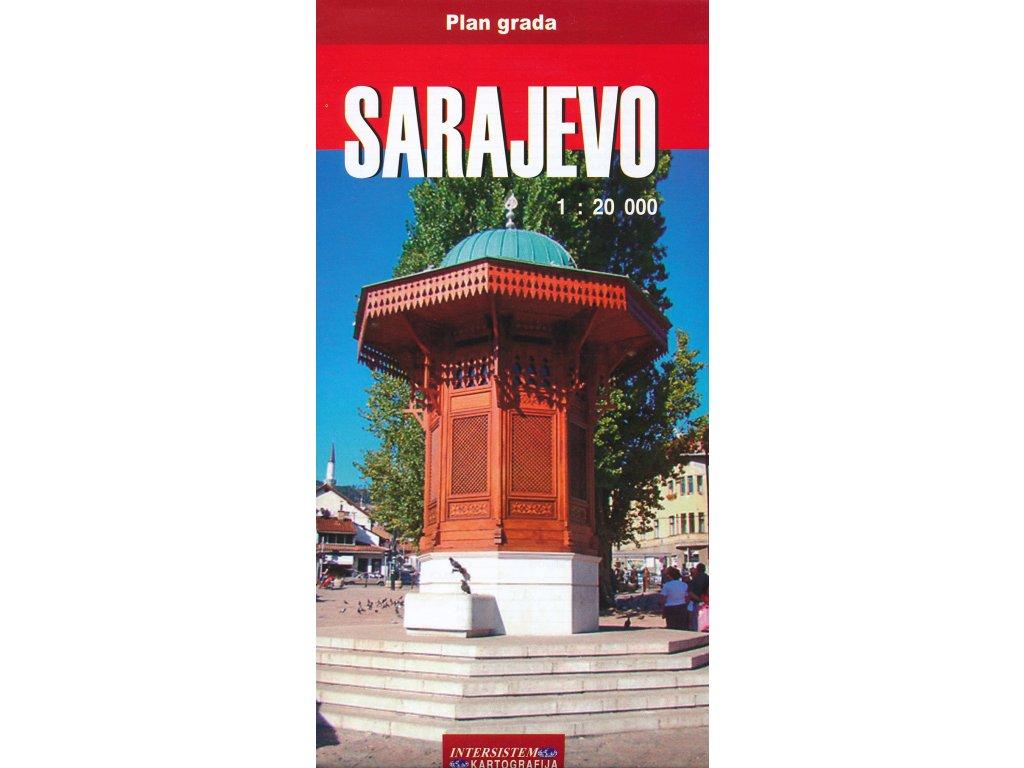 Sarajevo / plán,mapa 1:20t IntSist.Kart