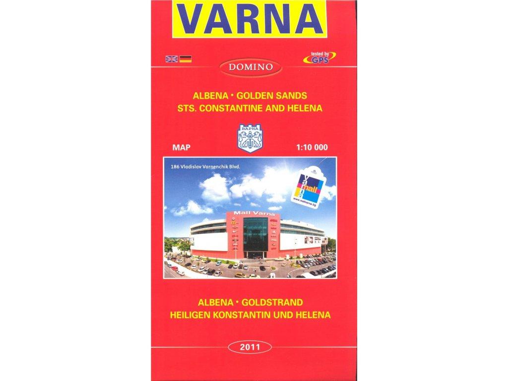 Varna / plán,mapa 1:10t DOMINO