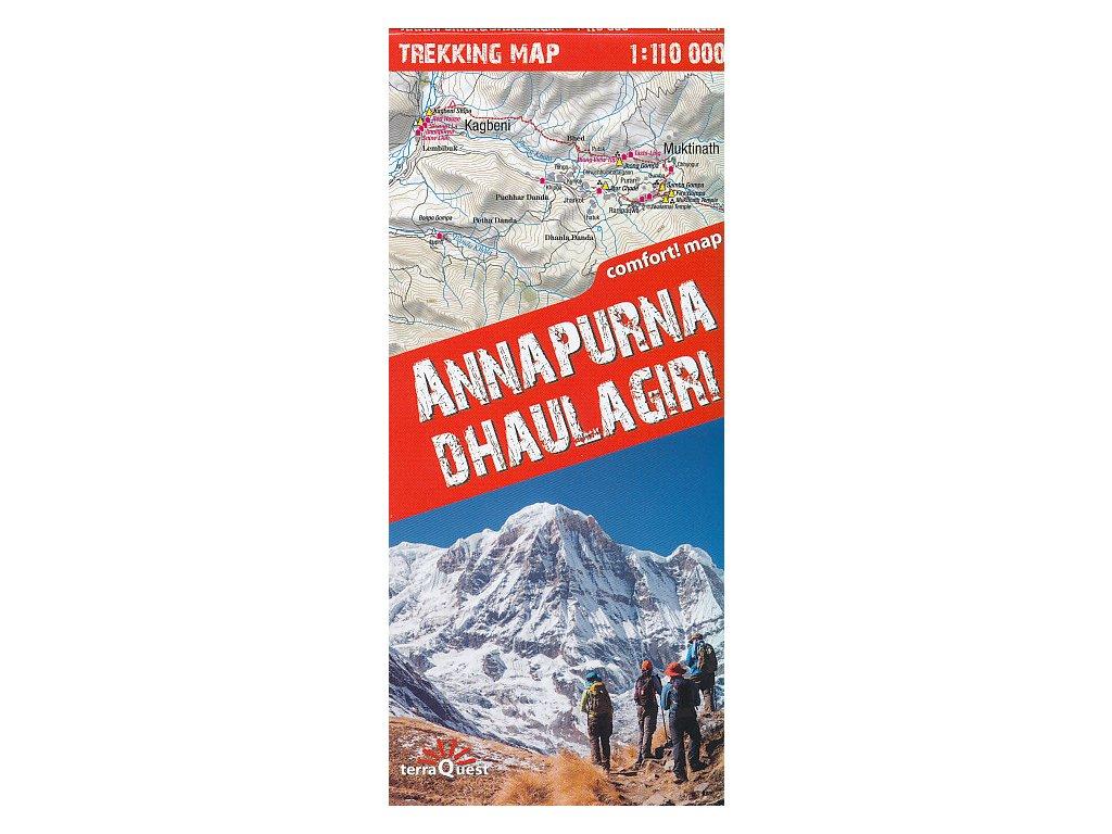 Annapurna, Dhaulagiri 1:110tis. TQ